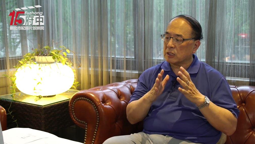 紀錄片放映後邀請資深影評人藍祖蔚線上導讀。(圖/府中15臉書)